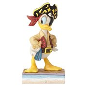 Disney Traditions Donald Duck Pirate Salty Sailor Statue