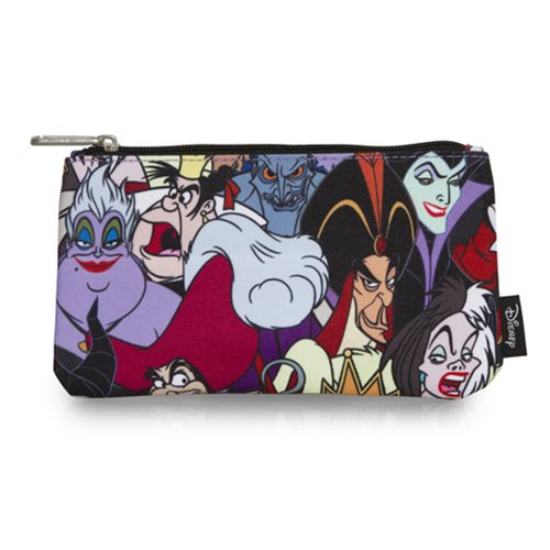 Disney Villains Print Travel Cosmetic Bag