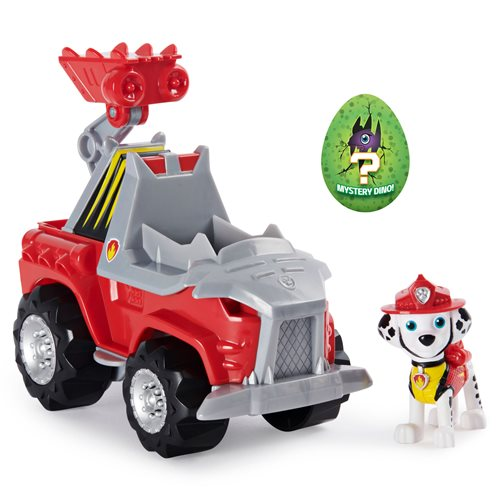 PAW Patrol Dino Rescue Marshall's Deluxe Rev Up Vehicle