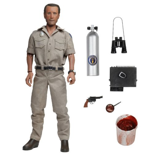 Jaws Chief Martin Brody 8-Inch Scale Clothed Action Figure