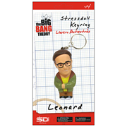 Big Bang Theory Leonard Hofstadter Stress Toy Key Chain