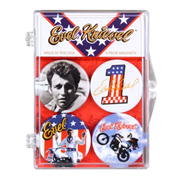 Evel Knievel Badges of Pride Magnet 4-Pack