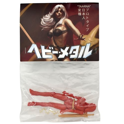 Heavy Metal Movie Japan Taarna Red Prototype 5-Inch FigBiz Action Figure - SDCC 2019 Exclusive