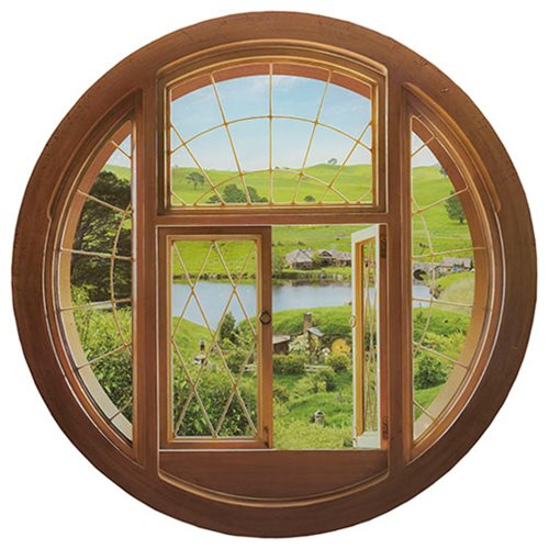 The Hobbit Hole Window Wall Decal