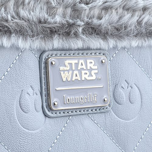 Star Wars The Empire Strikes Back 40th Anniversary Hoth Faux-Fur Crossbody Purse
