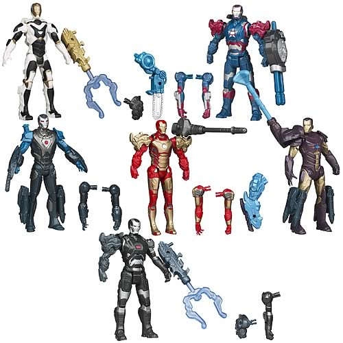 Iron Man Movie 3 Assemblers Action Figures Wave 1 Revision 1