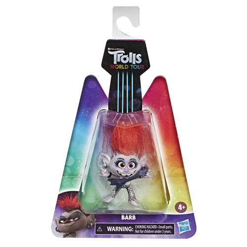 Trolls World Tour Spotlight Barb Small Dolls Collectible Figure