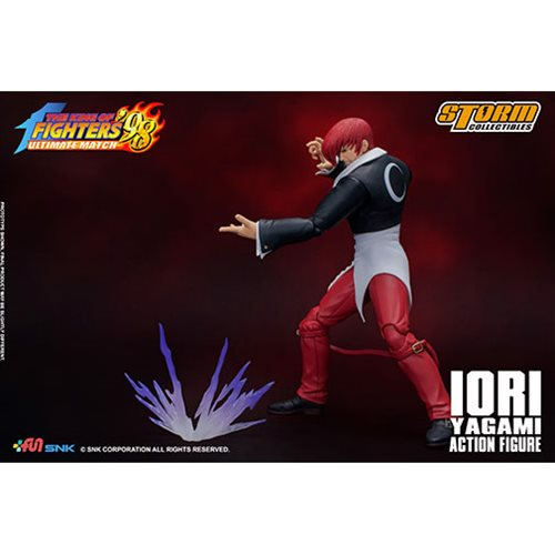 King of Fighters '98 Iori Yagami 1:12 Scale Action Figure