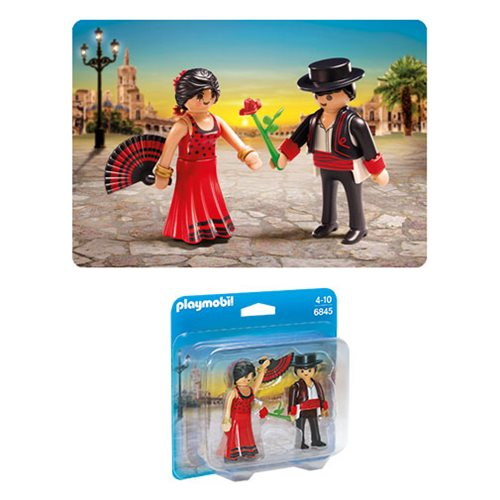 Playmobil 6845 Flamenco Dancers Duo Pack Action Figures