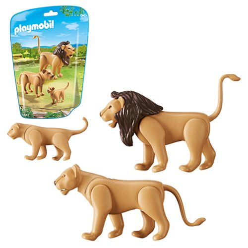 Playmobil 6642 Lion Family