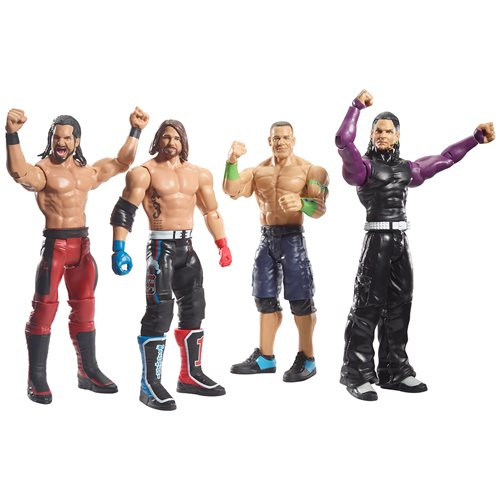 WWE Basic Top Picks Wave 2 2019 Action Figure Set