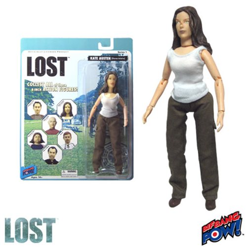 Lost Kate (Oceanic Six) 8-Inch Action Figure, Not Mint