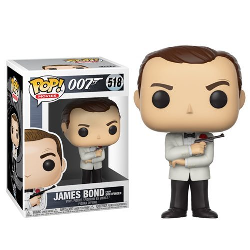 James Bond Sean Connery White Tux Pop! Vinyl Figure #518