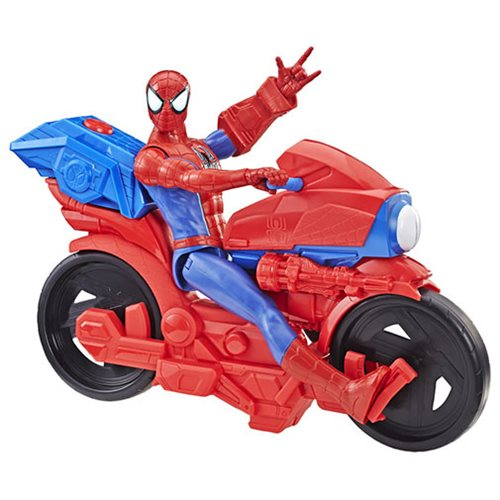 Spider-Man Titan Hero Series Spider-Man Figure with Power FX Cycle