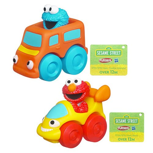 Sesame Street Wheel Pals Vehicles Wave 2 Set