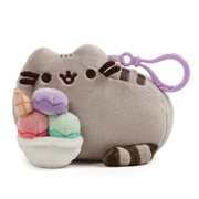 Pusheen the Cat Snackable Sundae Backpack Clip-On Plush