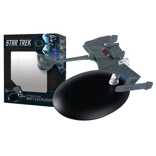 Star Trek Starships Best Of Figure #6 Ktinga-Class Battle Cruiser Vehicle