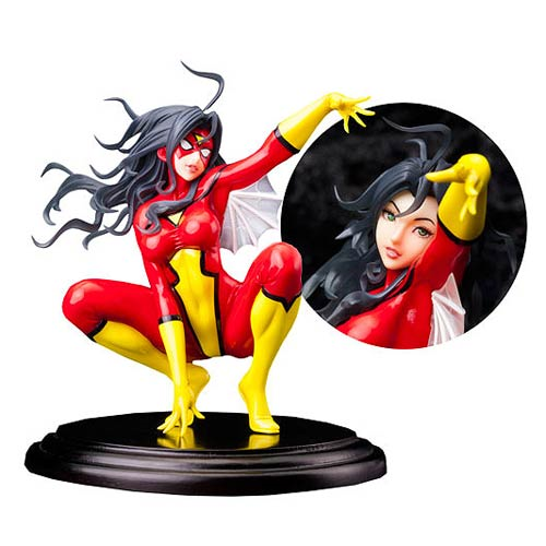 Marvel Spider-Woman Bishoujo Statue