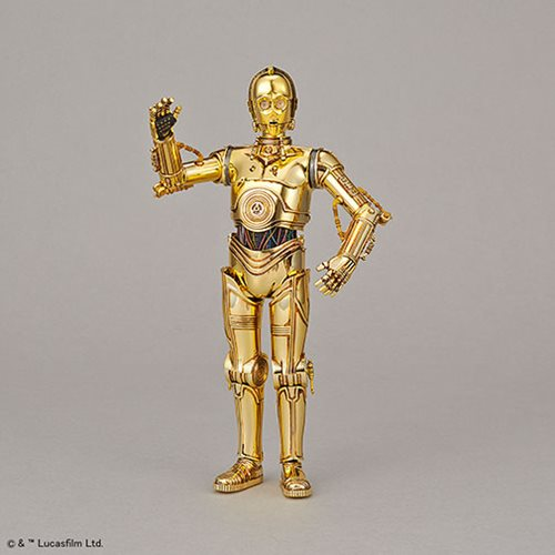 Star Wars C-3PO and R2-D2 1:12 Scale Model Kit Set
