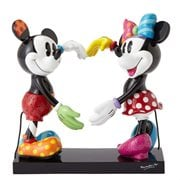 Disney Mickey Mouse and Minnie Mouse Statue by Romero Britto