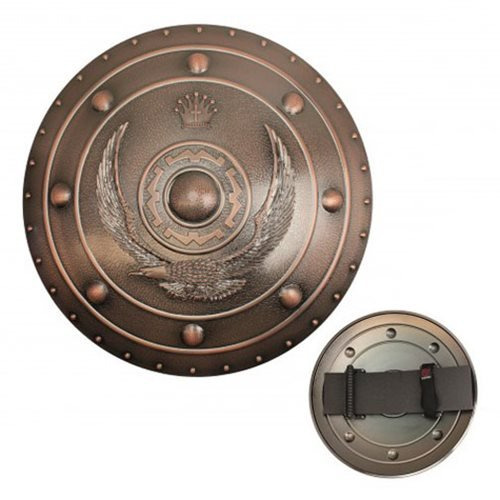 Hero's Edge Bronze Kingdom Polypropylene Shield