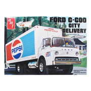 Ford C-600 Pepsi City Delivery Truck 1:25 Scale Model Kit