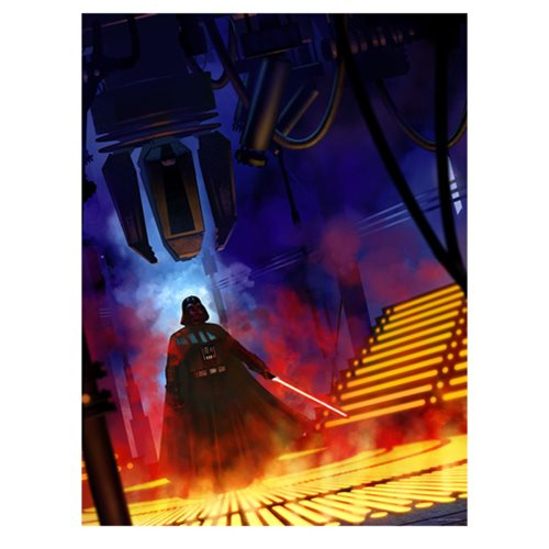 Star Wars Lurking Lineage by Jeremy Saliba Lithograph Art Print