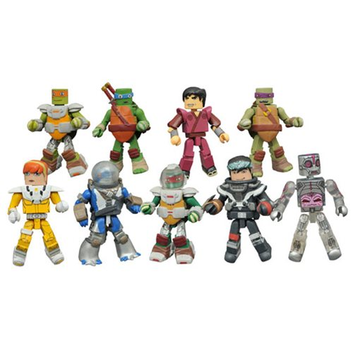 Teenage Mutant Ninja Turtles Minimates Series 5 Display Box