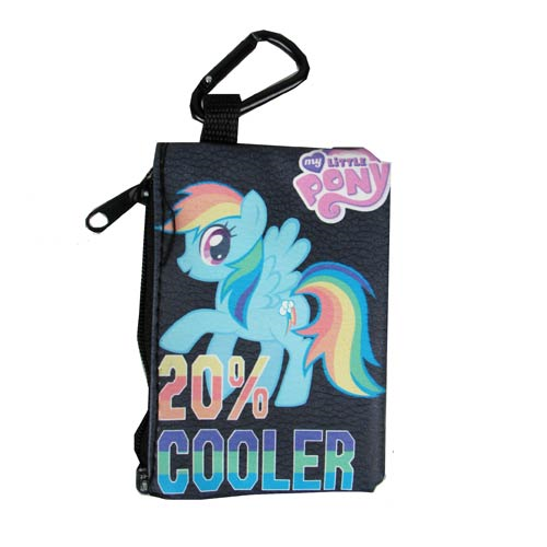 My Little Pony Friendship is Magic 20% Cooler Coin/Card Case Key Chain