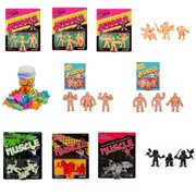 Anime, Music, and Wrestling M.U.S.C.L.E. Mini-Figures Bundle of 11 Sets