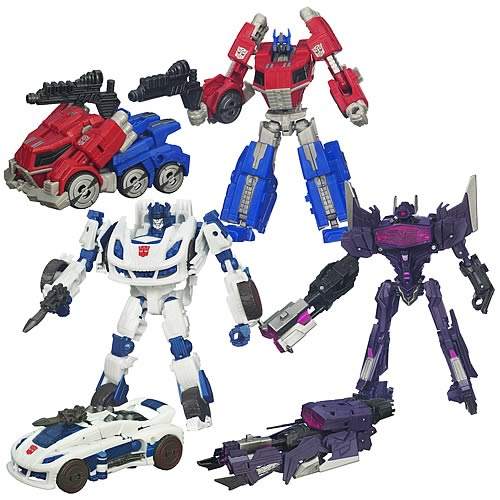 Transformers Generations Deluxe Figures Wave 1 Revision 1