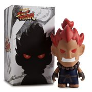 Street Fighter V Akuma 7-Inch Vinyl Figure, Not Mint
