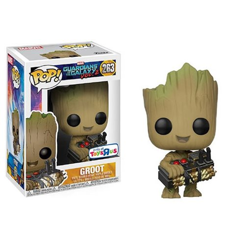 Guardians of the Galaxy Vol. 2 Groot Holding Bomb Pop! Vinyl Figure - Exclusive