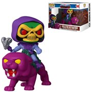 Masters of the Universe Skeletor on Panthor Pop! Ride, Not Mint