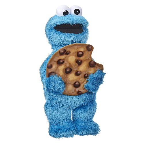Sesame Street Peekaboo Cookie Monster Talking 13-Inch Plush Toy