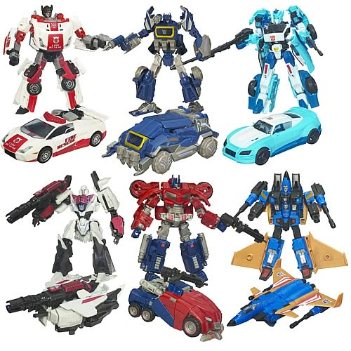 Transformers Generations Deluxe Figures Wave 4