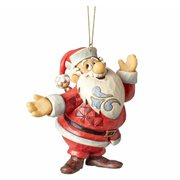 Frosty the Snowman by Jim Shore Santa Ornament