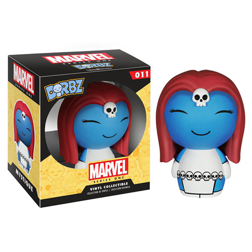 X-Men Mystique Marvel Series 1 Dorbz Vinyl Figure