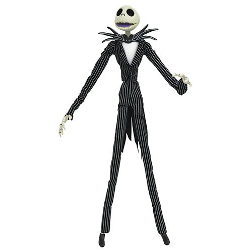 nightmare before christmas silver anniversary jack skellington action figure - Jack From Nightmare Before Christmas