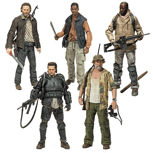 The Walking Dead TV Series 8 Action Figure Set