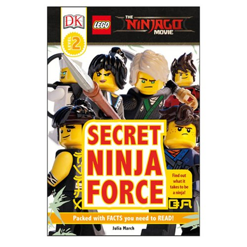 The LEGO Ninjago Movie Secret Ninja Force DK Readers 2 Hardcover Book