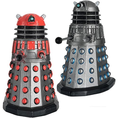 Doctor Who Collection Timelords Victorious Set #2 Dalek Time Commander and Dalek Scientist Figures