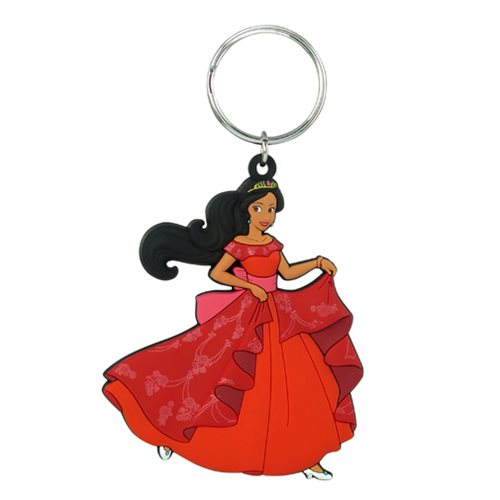 Elena of Avalor Soft Touch PVC Key Chain