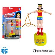 Wonder Woman Wooden Push Puppet