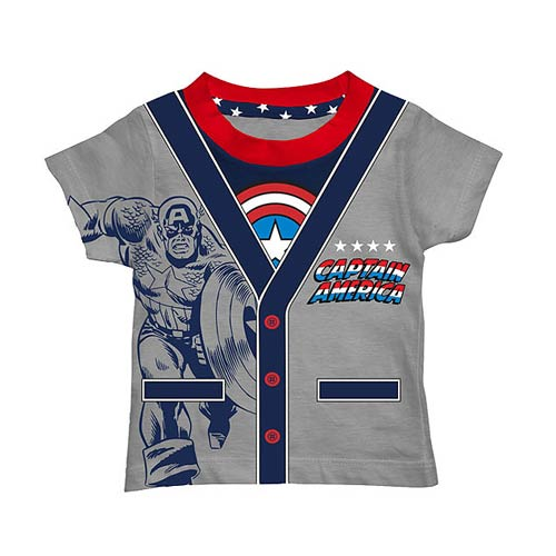 Captain America Toddler CostumeT-Shirt