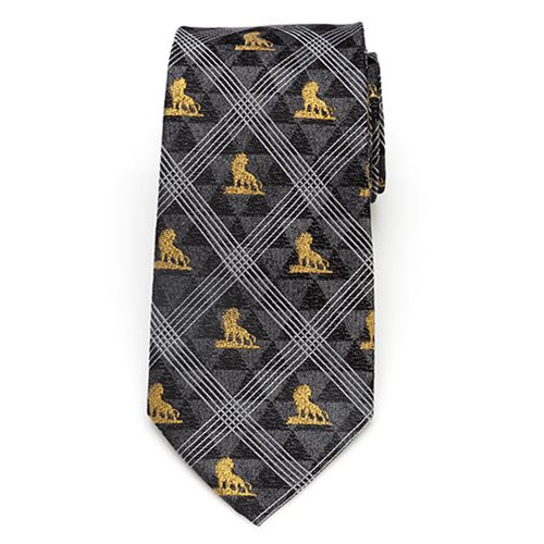 Lion King Pose Black Men's Tie