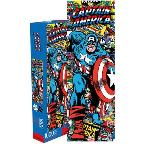 Captain America Comic Collage 1000-Piece Puzzle