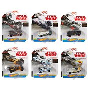 Star Wars The Last Jedi Hot Wheels Carships 2018 Wave 1 Case