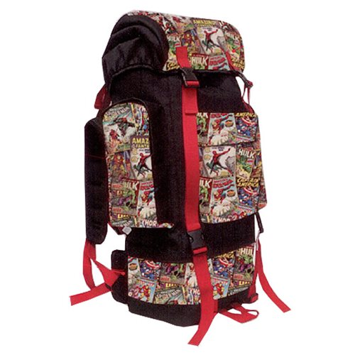 Marvel Comics Retro Collection Camping Backpack