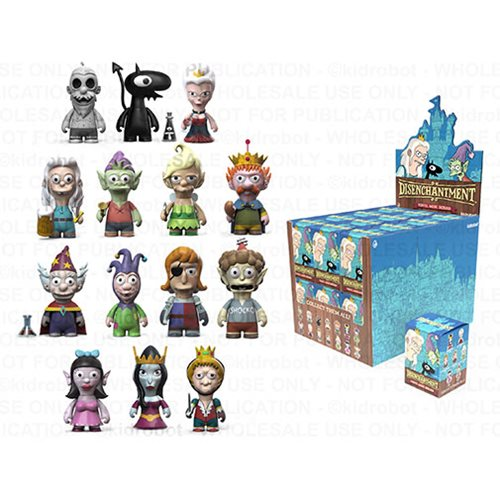 Disenchantment Mini-Figures Display Tray